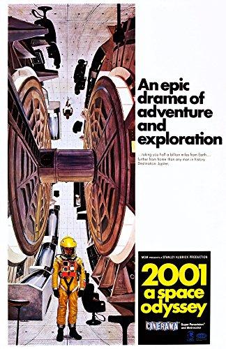 2001: A Space Odyssey U Movie Poster Masterprint (27.94 x 43.18 cm)