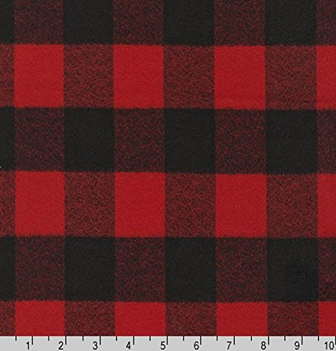red crepe fabric - 9