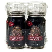 Escosa Chile de Arbol Martajado, 50 g