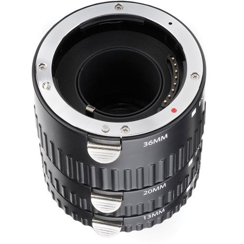 Vello Auto Extension Tube Set for Sony Alpha by VELLO (Image #4)