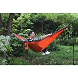 Geezo Double Camping Hammock, Lightweight Portable