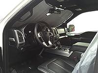The Original Auto Sunshade, Custom-Fit for Ford F-250 Super Duty Truck (Crew Cab) 2015-2019 w/Sensor Sunshield