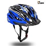 Image of JBM Adult Cycling Bike Helmet Specialized for Mens Womens Safety Protection Red / Blue / Yellow
