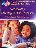 Vocabulary Development Instruction 9781933049021
