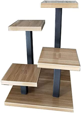 Mini pequeño soporte de flores para escritorio, soporte para carne, escalera de almacenamiento, alféizar para ventana interior Size 2: Amazon.es: Hogar