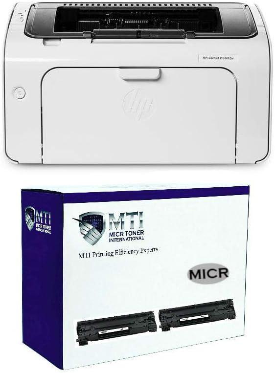 MICR Toner International M12w - Juego de impresión láser con 2 ...