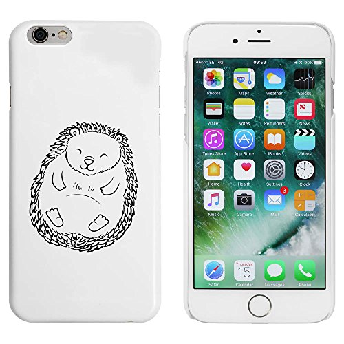 Blanc 'Hérisson Dormir' étui / housse pour iPhone 6 & 6s (MC00086947)