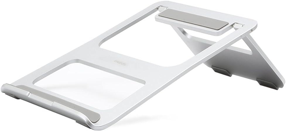 MacBook Air//Pro und anderes Laptop Notebook Rose Gold MOSISO Faltbarer Laptop Standplatz Beweglicher Aluminiumlegierungs Standplatz Halter mit justierbarer Haltewinkel Kompatibel iPad//Surface Pro