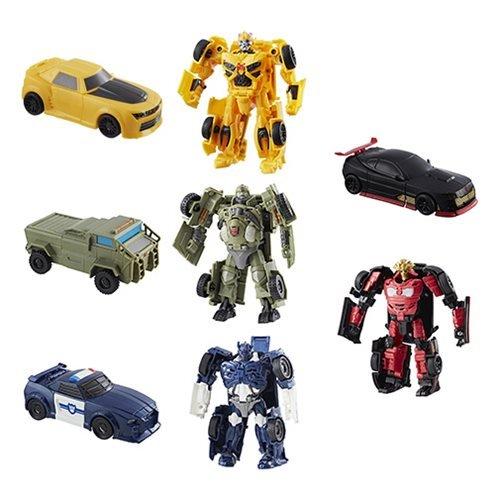 Transformers The Last Knight Allspark Tech BUMBLEBEE, AUTOBOT HOUND, BARRICADE, AUTOBOT DRIFT Figures Wave 1 SET ()