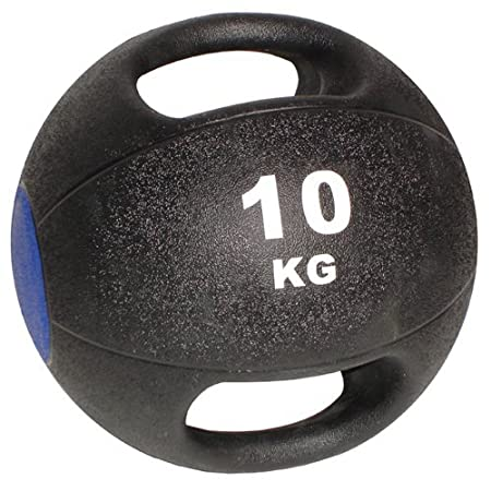 Physical Company - Balón medicinal con doble asa (10 kg): Amazon ...