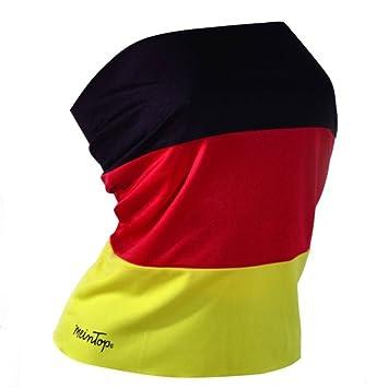 Damen-Top / Rock schwarz-rot-gold für Deutschland: Amazon.de ...