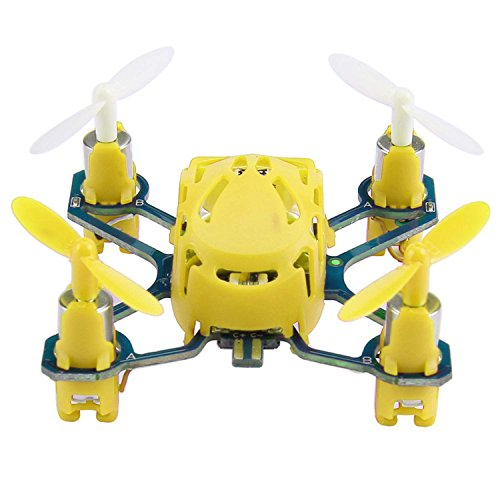 Eshion Mini RC Quadcopter RTF Drone Q4 H111 Nano 4-Channel 2.4GHz Radio System Kids Toy Drone