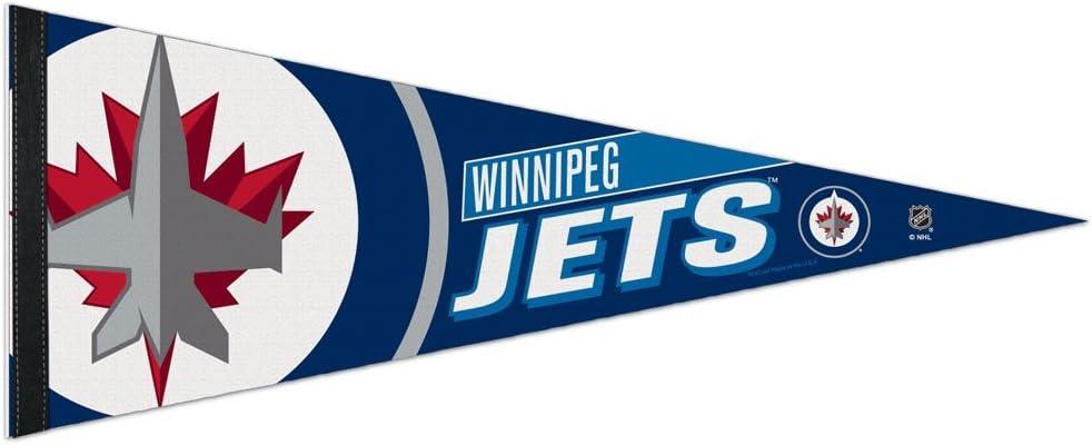 12 X 30 NHL 65841014 Winnipeg Jets Premium Pennant
