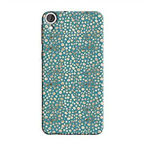 Cover It Up - Brown Blue Pebbles Mosaic Desire 820 Hard Case