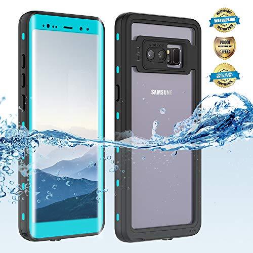 Samsung Galaxy Note 8 Waterproof Case, Shockproof Dustproof Snowproof Hard Shell Full-Body...