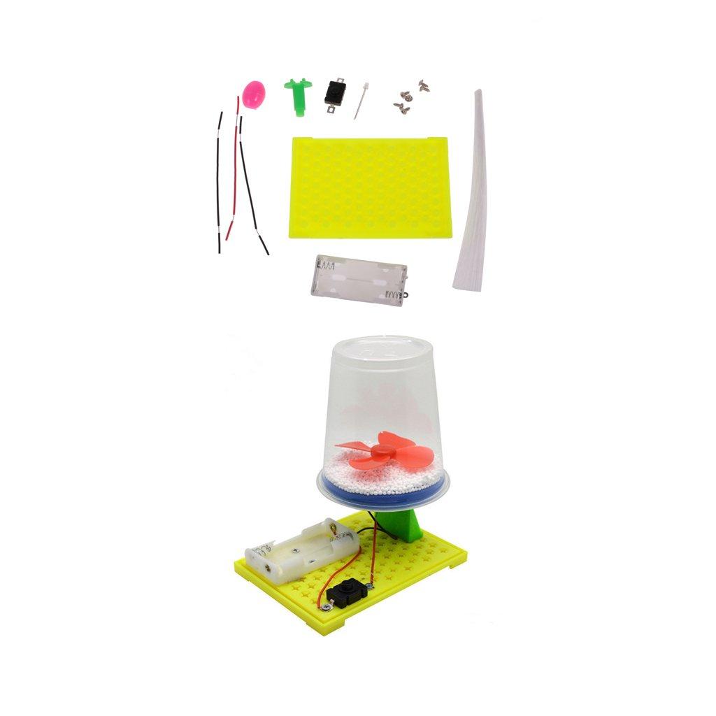 MagiDeal Kinder DIY Montage Spielzeug Bunte Lichtfaser