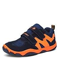 DADAWEN Boy's Casual Outdoor Breathable Running Shoes Sneakers(Toddler/Little Kid/Big Kid)