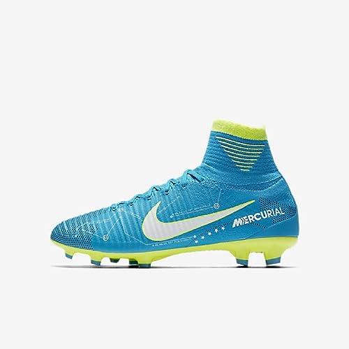 Nike Junior Mercurial Superfly V DF NJR FG Football Boots 921483 Soccer  Cleats  Amazon.es  Zapatos y complementos 98fd7989ca698