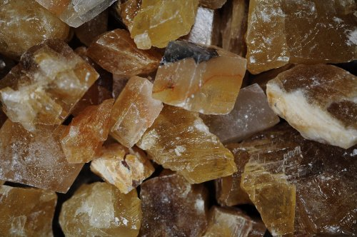 Fantasia Materials: 1 lb AAA Grade Honey Calcite Rough - (Select Assorted or Specific Color) - Premium Raw Natural Crystals for Cabbing, Cutting, Tumbling, Polishing, Wire Wrapping, Wicca & Reiki