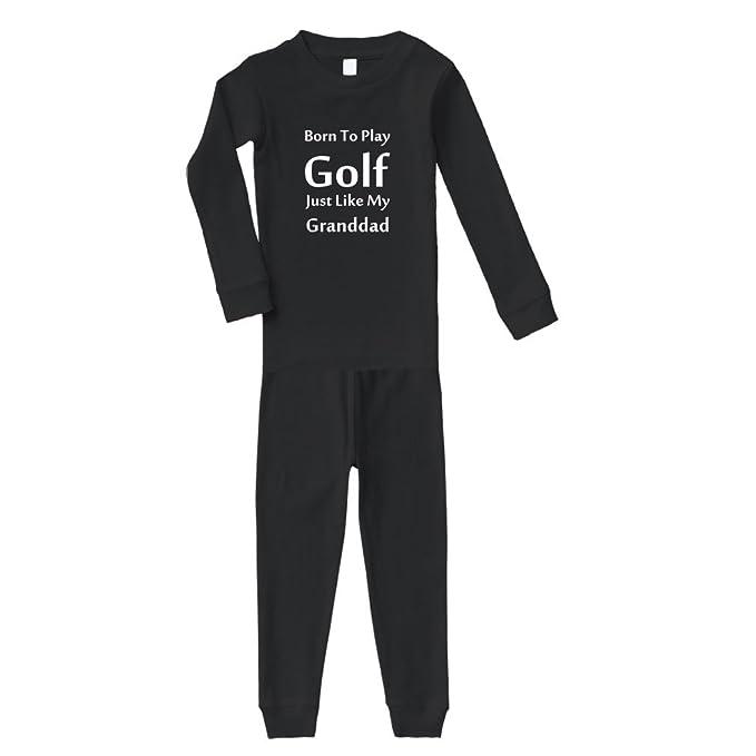 Amazon com: Born to Play Golf Just Like My Grandad Cotton