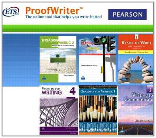 ProofWriter Access Code Card pdf