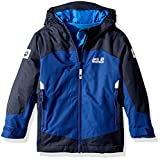 Jack Wolfskin Boys Akka 3In1 Jacket, Royal Blue, Size 92 (18-24 Months)