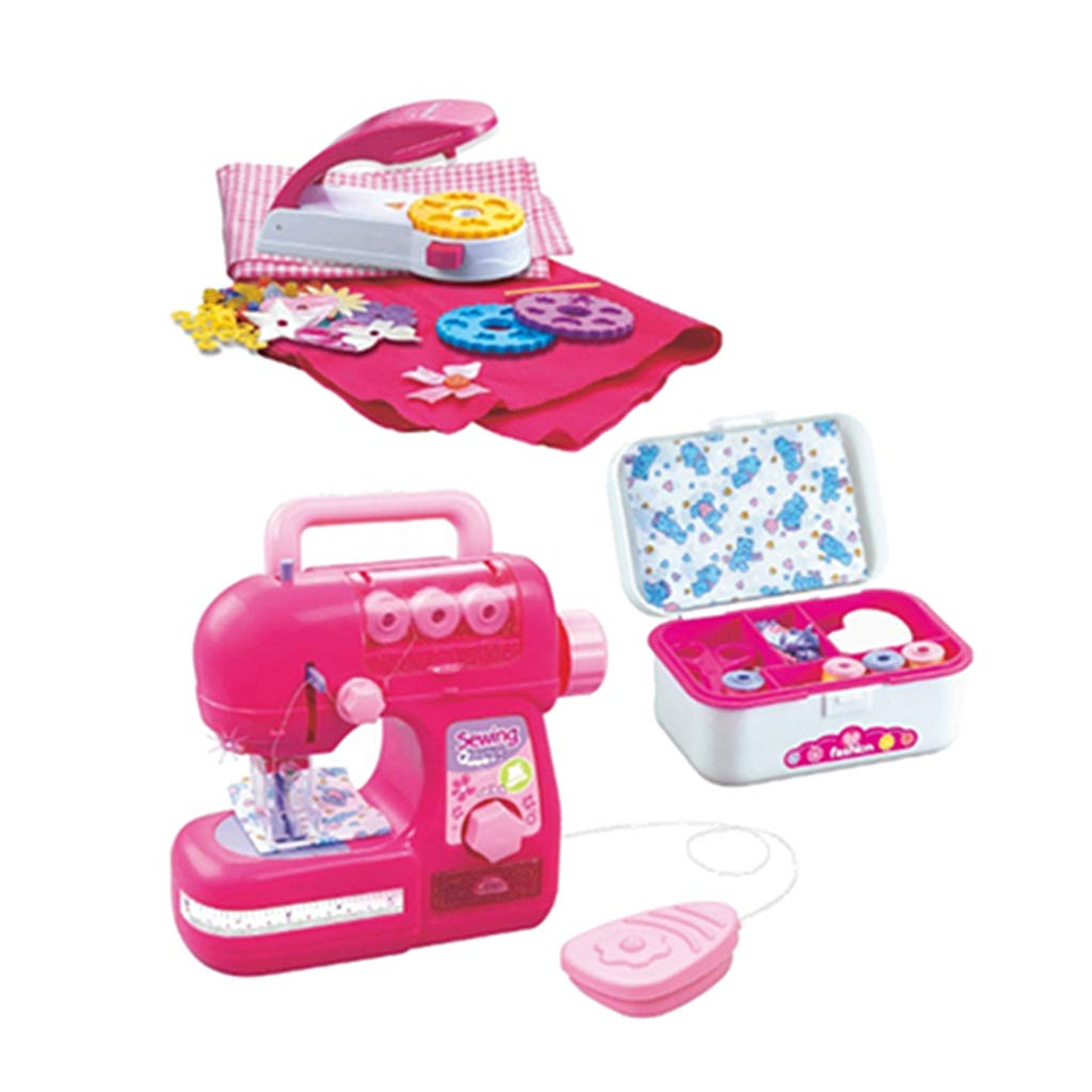 Flameer Pretend and Play Mini Home Appliance for 3+ Kids Boys and Girls - Sewing Machine Set