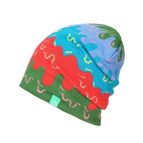 verde Acvip Hook Adult inverno Unisex unito Bonnet colore Hat taglia Knitted caldo unica 77dwqXr