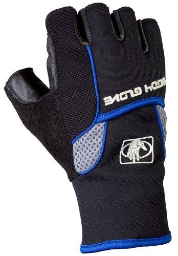 Body Glove 90328 Half-Finger Mechanics Style Gloves, Blac...