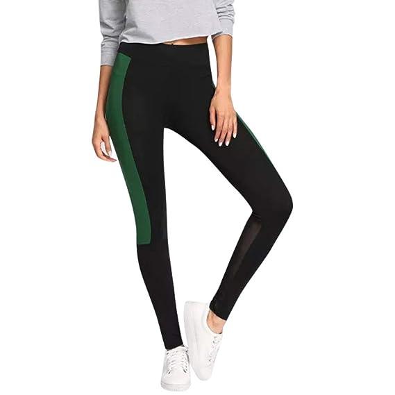 Pantalones Leggings Vestir Deportivos Yoga para Mujer Otoño Invierno 2018  PAOLIAN Pantalones Running Fitness Moda Cintura Alta Jogger de Chandal  Pantalones ... 4288b52a00f7