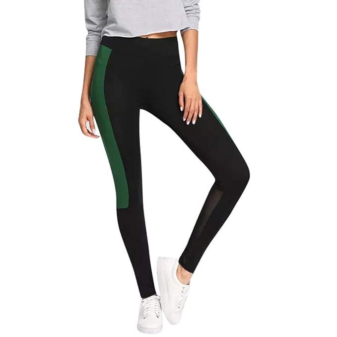8ff4ea51c Pantalones Leggings Vestir Deportivos Yoga para Mujer Otoño Invierno 2018  PAOLIAN Pantalones Running Fitness Moda Cintura Alta Jogger de Chandal  Pantalones ...