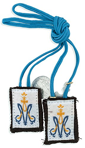 Catholic Children's First Communion Scapular (Blue)