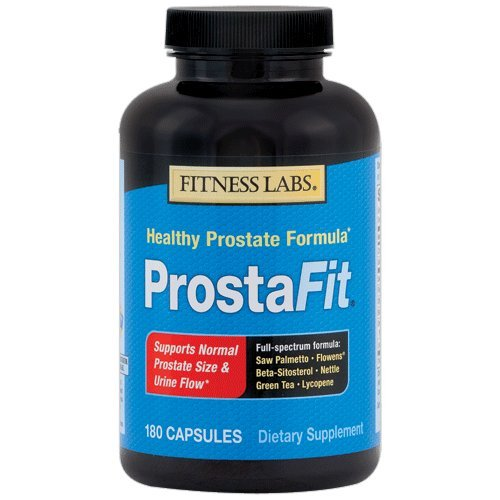 Fitness Labs ProstaFit with Saw Palmetto, Flowens, Beta Sitosterol, Nettle, Green Tea and Lycopene, 180 (240mg 60 Gels)