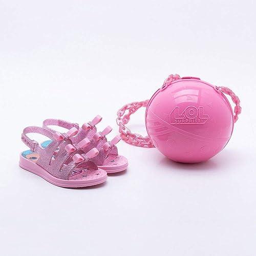 5051b0788 Sandália Grendene Infantil Lol Bag Rosa  Amazon.com.br  Amazon Moda