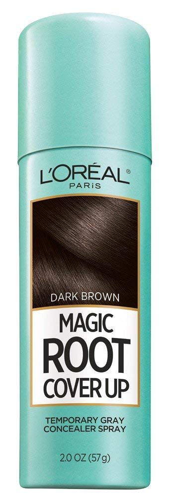 L'Oreal Paris Root Cover Up Temporary Gray Concealer Spray, Dark Brown 2 oz (Pack of 3) by L'Oreal Paris
