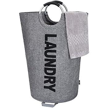 Amazon.com: ZOORON Cesta para la colada, plegable, para ropa ...