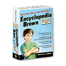 By Donald J. Sobol - Encyclopedia Brown 4 Volume Boxed Set