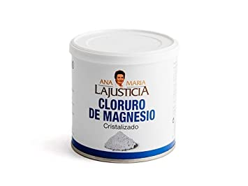 Amazon.com : Ana Maria LaJusticia Magnesium Chloride 400g - Supplement - Strengthens - Energy - Spain : Beauty