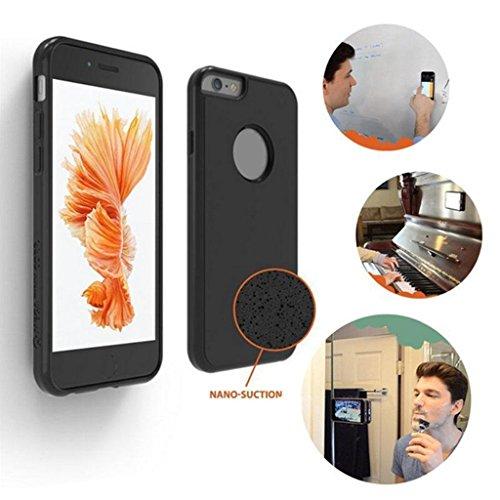 MagiDeal Cubierta Funda Compatible con iPhone 7 Accesorios para Móvil Teléfono Protector de Silicona TPU Elegante Regalo - Azul Negro