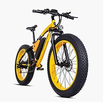 Shengmilo-mx02 Bicicleta Eléctrica para Neumáticos De Grasa De 26 ...