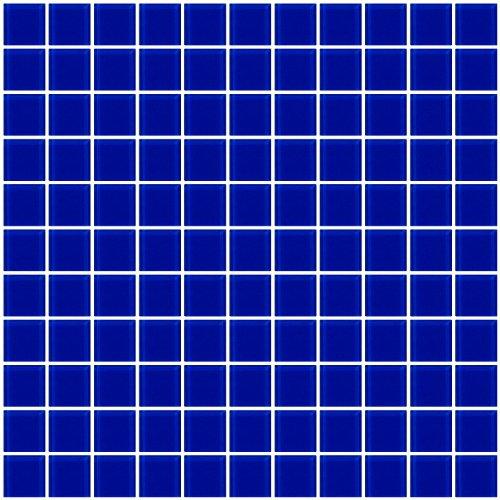 Susan Jablon Mosaics - 1 Inch Cobalt Blue Glass ()