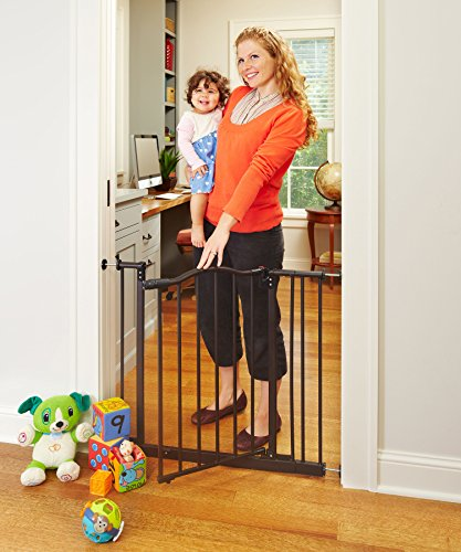 """North States Pet MyPet Windsor Arch Gate fits openings 28.25"""" – 38.25"""" wide and is 28.5"""" high"""
