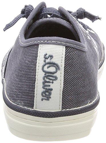Femme oliver denim Sneakers S 23611 Bleu Basses w4xR0CqCn