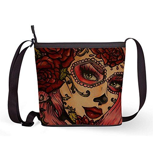 Bag Sling Sling Popular Fashion Skull Crossbody and with Sugar Bag Bag Print Female Sugar Shoulder Bag16 Casual wZqw4IX