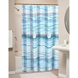 51YPrHdLxFL._SS300_ Beach Shower Curtains & Nautical Shower Curtains