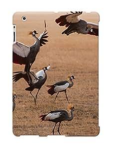 Hot Design Premium Rgdorn-3088-rjpnfdj Tpu Case Cover Ipad 2/3/4 Protection Case (animal Grey Crowned Crane Bird)
