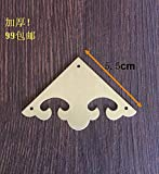 Thick/Chinese antique furniture of Ming and Qing Dynasties copper clad corner armor hardware accessories accessories single ho