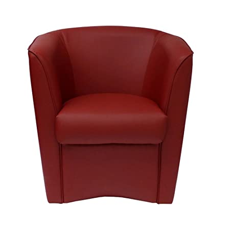 poltrone & divani eco-piel Chair Bordeaux made in Italy for Office ...