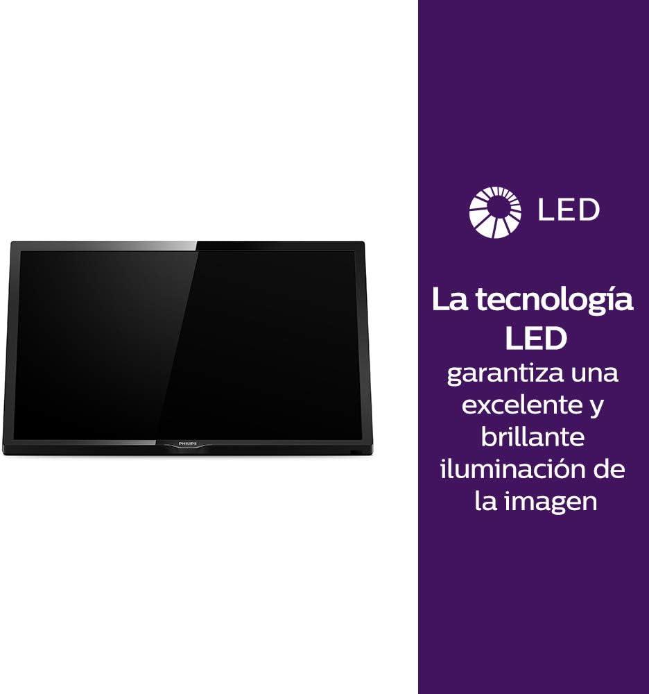 Philips 24PHS4304, Televisor, 1, Multicolor: Philips: Amazon.es ...