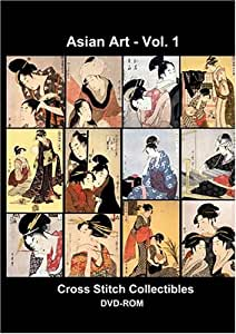 Asian Art Cross Stitch Vol. 1